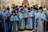 Завершилось пребывание Курской-Коренной иконы Божией Матери в пределах Среднеазиатского митрополичьего округа