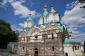 Братия Святогорской лавры просит оказать помощь в реставрации Успенского собора