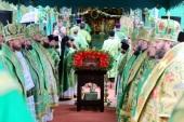 La Eparhia de Brest au avut loc solemnitățile cu prilejul zilei de pomenire a Sfântului Cuviosului Mucenic Atanasie al Brestului