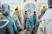 В праздник Рождества Пресвятой Богородицы Предстоятель Русской Церкви совершил Литургию в Вознесенском кафедральном соборе Геленджика