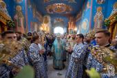 Предстоятель Украинской Православной Церкви возглавил торжества престольного праздника в Академическом храме Киевских духовных школ