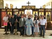 В праздник Рождества Пресвятой Богородицы в Представительстве Русской Православной Церкви в Дамаске была совершена Литургия