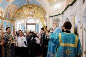 Проповедь Святейшего Патриарха Кирилла в праздник Рождества Пресвятой Богородицы после Литургии в Вознесенском соборе Геленджика
