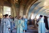 Председатель Синодального отдела по монастырям и монашеству возглавил торжества по случаю престольного праздника Богородице-Рождественского ставропигиального монастыря