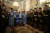 В праздник Рождества Пресвятой Богородицы Патриарший экзарх всея Беларуси совершил Литургию в Гродненском Рождество-Богородичном женском монастыре