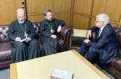 Митрополит Волоколамский Иларион встретился с послом России в Ливане