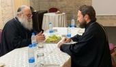 Состоялась встреча Патриарха Антиохийского Иоанна с председателем Отдела внешних церковных связей Московского Патриархата
