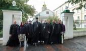 Делегация клириков и мирян Церкви Англии посетила Московскую духовную академию