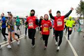 Православная служба помощи «Милосердие» собрала рекордное количество участников благотворительного забега на Московском марафоне