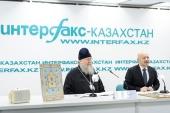 В Алма-Ате состоялась пресс-конференция, посвященная принесению в Казахстан Курской-Коренной иконы Божией Матери «Знамение»