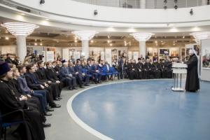 В Смоленске открылась фотовыставка «Слово Патриарха. Время больших дел»