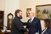 Состоялась встреча председателя Финансово-хозяйственного управления с руководителем старейшей реставрационной компании Европы