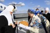 Святейший Патриарх Кирилл прибыл в Самарскую митрополию