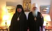 Состоялась встреча временно управляющего Патриаршими приходами в США с Предстоятелем Православной Церкви в Америке