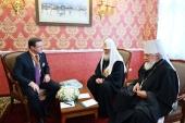 Состоялась встреча Святейшего Патриарха Кирилла с полномочным представителем Президента РФ в ПФО, губернатором Самарской области и главой Самарской митрополии