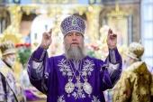В праздник Воздвижения Креста Господня митрополит Астанайский Александр совершил Литургию в Успенском кафедральном соборе Нур-Султана