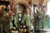 Патриарший наместник Московской епархии возглавил торжества по случаю 645-летия основания Высоцкого мужского монастыря г. Серпухова