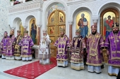 Проповедь Святейшего Патриарха Кирилла после Литургии в соборе Софии Премудрости Божией г. Самары
