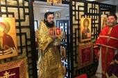 Митрополит Корсунский и Западноевропейский Антоний совершил Литургию в Петропавловском приходе в Гонконге