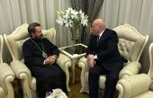 Председатель ОВЦС встретился с послом Российской Федерации в Республике Беларусь