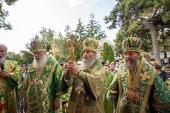 Блаженнейший митрополит Онуфрий возглавил в Одессе торжества в день памяти преподобного Кукши Одесского