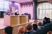 Митрополит Крутицкий и Коломенский Ювеналий встретился с руководителями образовательных организаций Московской области