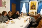 Председатель Синодального отдела по благотворительности провел встречу с ректорами медицинских вузов России