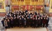 Участники международного Арктического совета посетили Валаамский монастырь