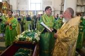 Торжества в честь Собора Брянских святых состоялись в Брянской митрополии