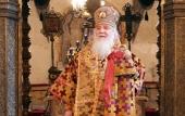 Патриаршее поздравление митрополиту Липецкому Арсению с 30-летием архиерейской хиротонии