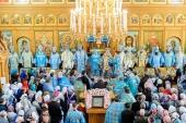 В Алма-Ате прошли торжества по случаю 15-летия установления празднования Собора новомучеников и исповедников Казахстанских