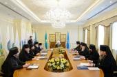 Состоялось заседание Синода Митрополичьего округа Русской Православной Церкви в Республике Казахстан