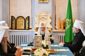 His Holiness Patriarch Kirill: Reunification of the Archdiocese of parishes of Russian tradition with the Mother Church has become possible due to profound changes in the life of Russia and the Russian Church