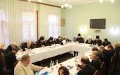 Митрополит Санкт-Петербургский Варсонофий провел заседание комиссии Межсоборного присутствия по церковному управлению
