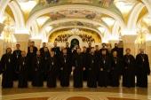 Хор духовенства Санкт-Петербургской митрополии выступил в столице Сербии