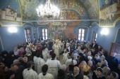 Председатель Синодального отдела по монастырям и монашеству освятил храм Толгской иконы Божией Матери в Высоко-Петровском ставропигиальном монастыре