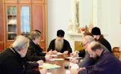 В Санкт-Петербурге прошло совещание по подготовке к празднованию 90-летия со дня рождения митрополита Никодима (Ротова)