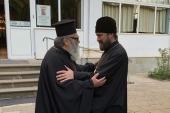Завершилось пребывание митрополита Волоколамского Илариона в Болгарии