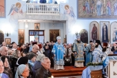 В праздник Покрова Пресвятой Богородицы митрополит Астанайский Александр совершил Литургию в кафедральном соборе Костанайской епархии