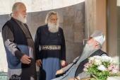 Почетного Патриаршего экзарха всея Беларуси посетил иерарх Иерусалимского Патриархата