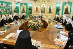 ЖУРНАЛЫ заседания Священного Синода от 17 октября 2019 года