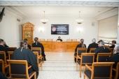Митрополит Волоколамский Иларион выступил перед слушателями курсов повышения квалификации для новопоставленных архиереев