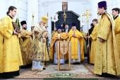 В ходе Первосвятительского визита в Брянскую епархию Предстоятель Русской Церкви освятил Успенский собор Свенского монастыря
