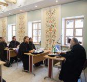 Председатель Синодального отдела религиозного образования и катехизации выступил с лекцией на курсах для новопоставленных архиереев