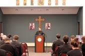 Митрополит Волоколамский Иларион посетил Свято-Владимирскую семинарию в Нью-Йорке