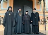 Члены комиссии Синодального отдела по монастырям и монашеству совершили рабочую поездку по монастырям Московской областной епархии