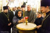 Свято-Духов кафедральный собор города Минска посетил Президент Кубы