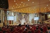 Святейший Патриарх Кирилл возглавил церемонию открытия II Международного съезда регентов и певчих Русской Православной Церкви