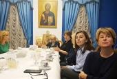 В Синодальном отделе по благотворительности прошло заседание Попечительского совета Морозовской детской больницы г. Москвы