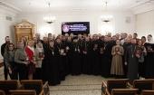 В Общецерковной аспирантуре завершился семинар для руководителей и сотрудников епархиальных молодежных отделов
